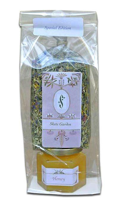 Gift Set Skete Garden Herbal Tea & Honey