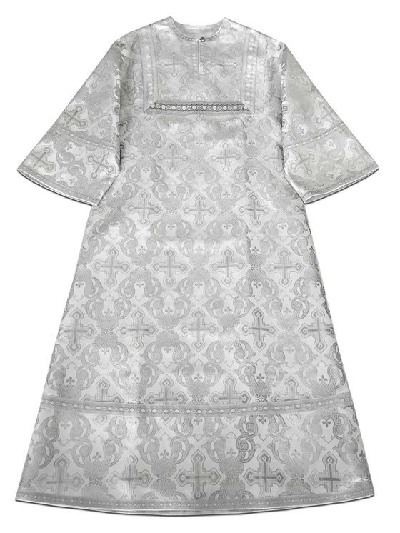 White Altar Server Vestment: 145cm