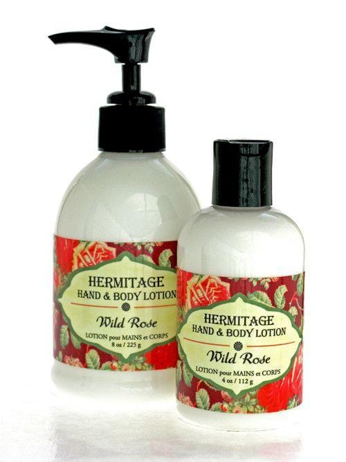 Hand & Body Lotion: Wild Rose