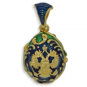 Russian Coat of Arms Locket Charm Pendant