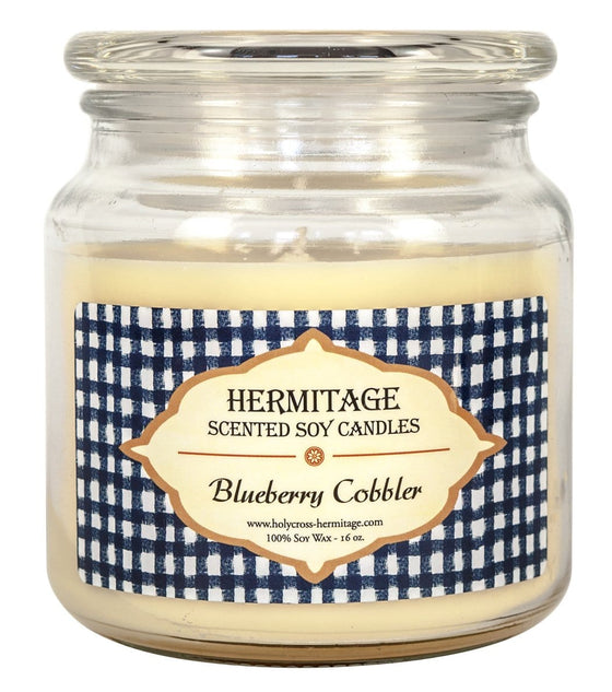 Soy Candle: Blueberry Cobbler