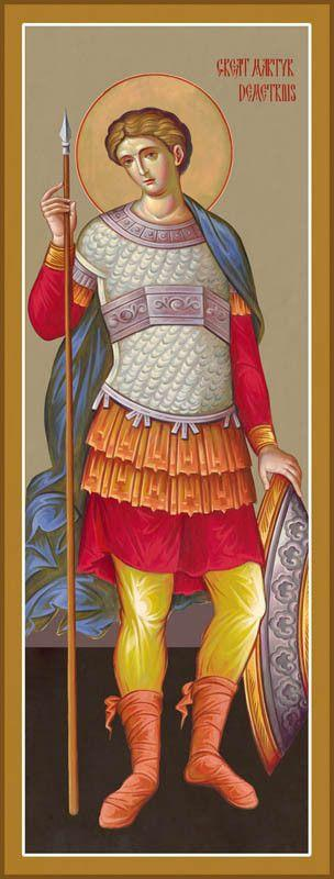 St. Demetrius of Thessalonica Icon (Dimitri)