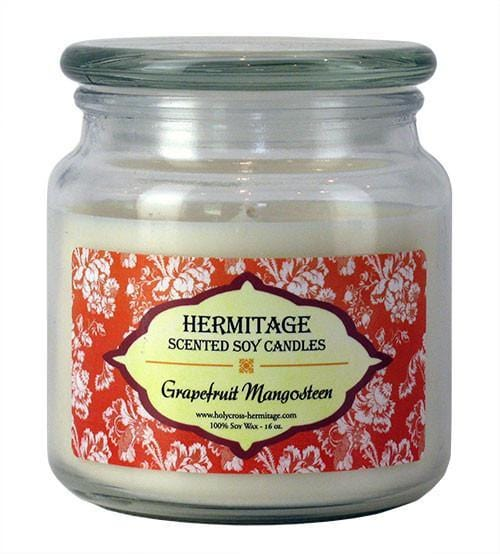 Soy Candle: Grapefruit Mangosteen