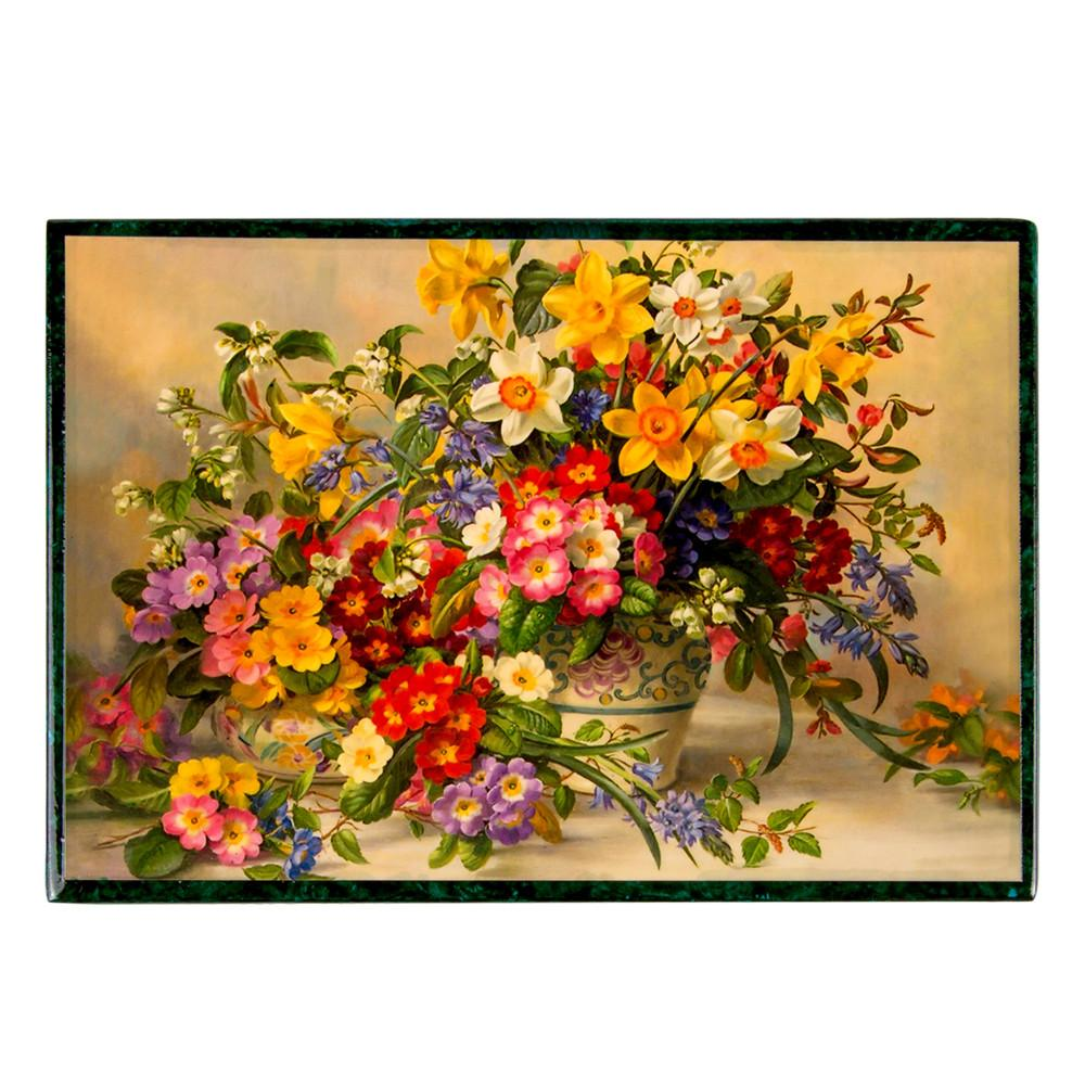 "Lacquer Box ""Spring Bouquet"""