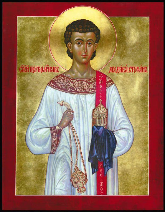 St. Stephen the Protomartyr and Archdeacon Icon