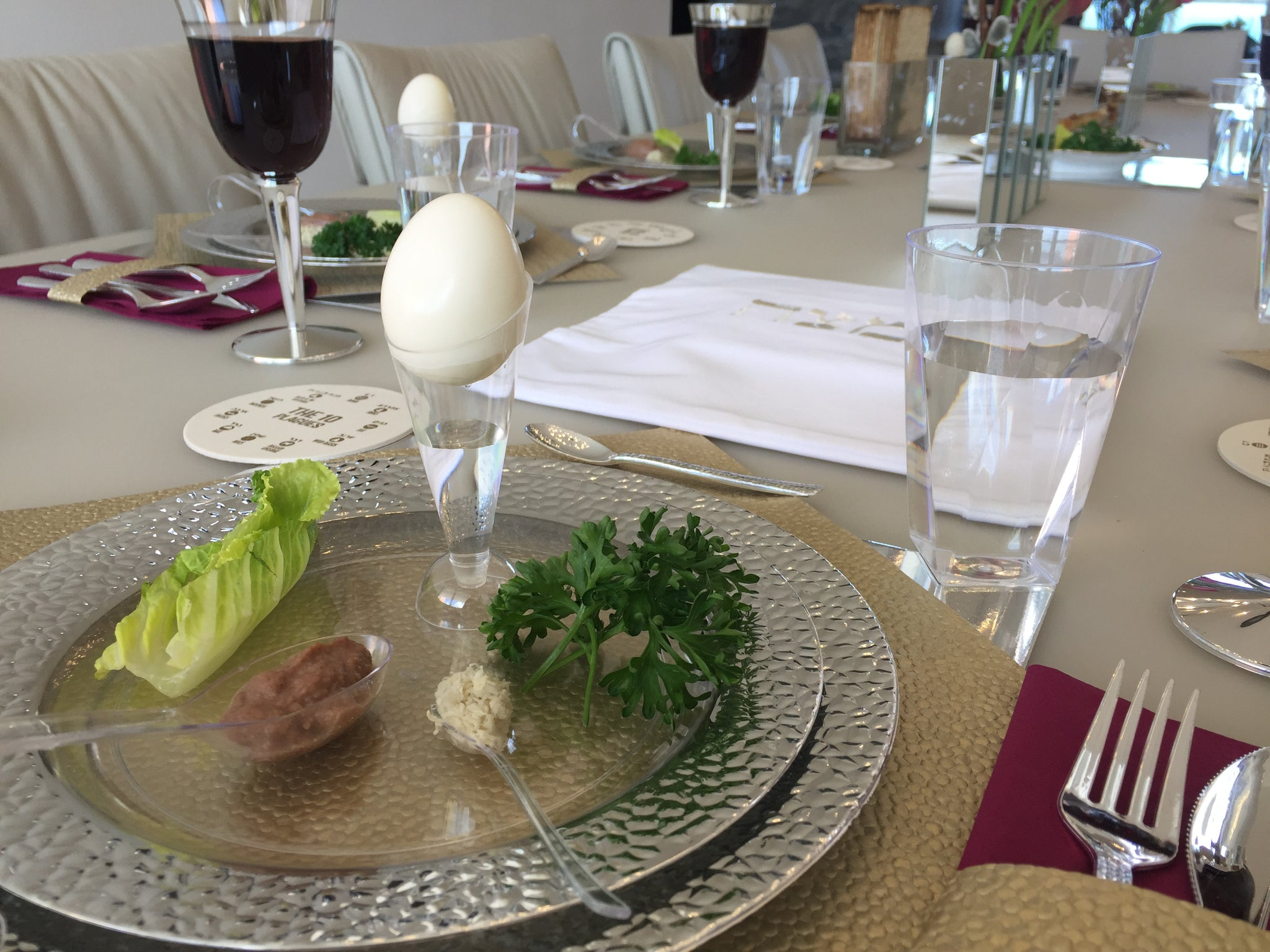 Make a Passover seder ALL disposable | Apeloig Collection