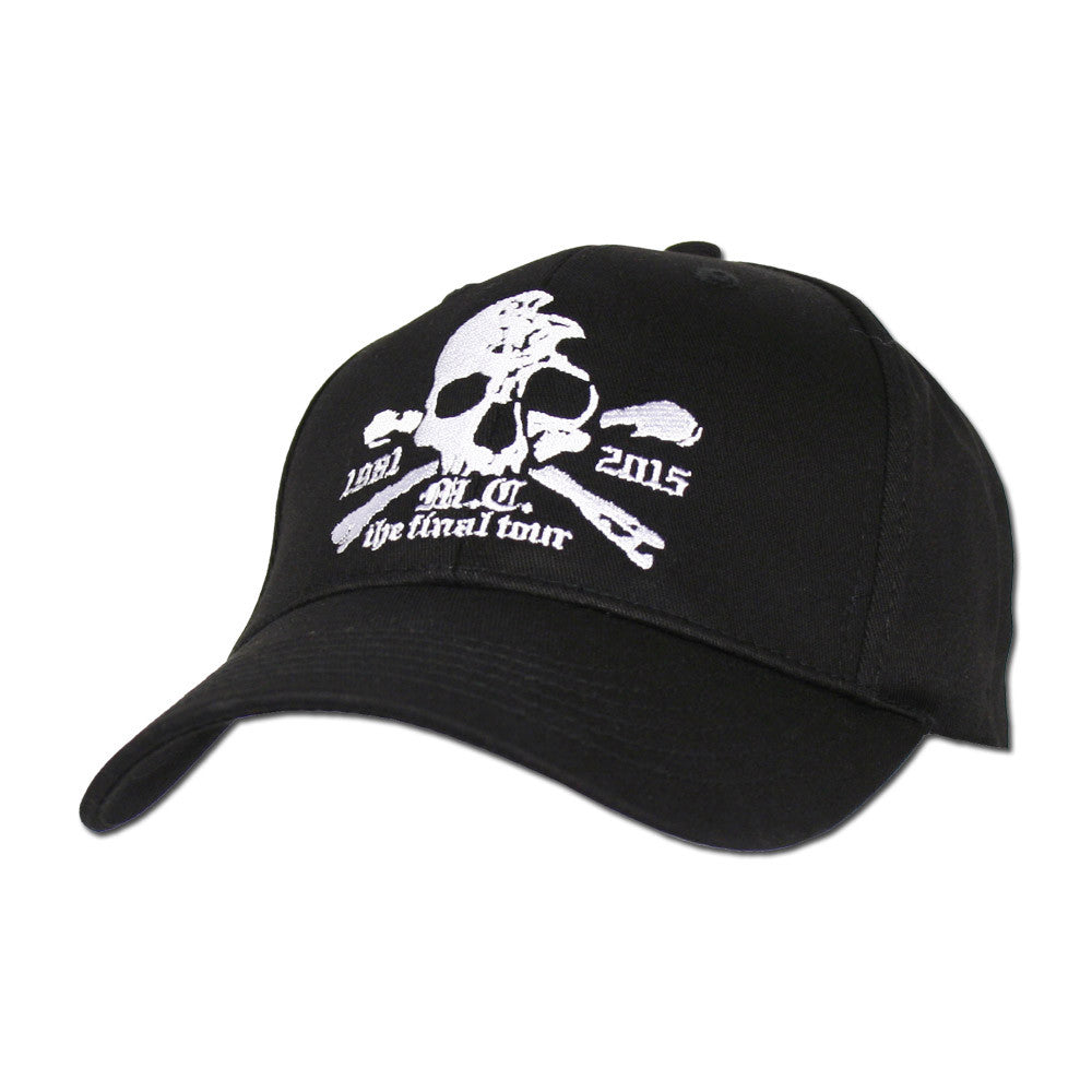 Features embroidered front and back logos and art and printed band logo  taping on the inside. One size fits all. deddb95777d