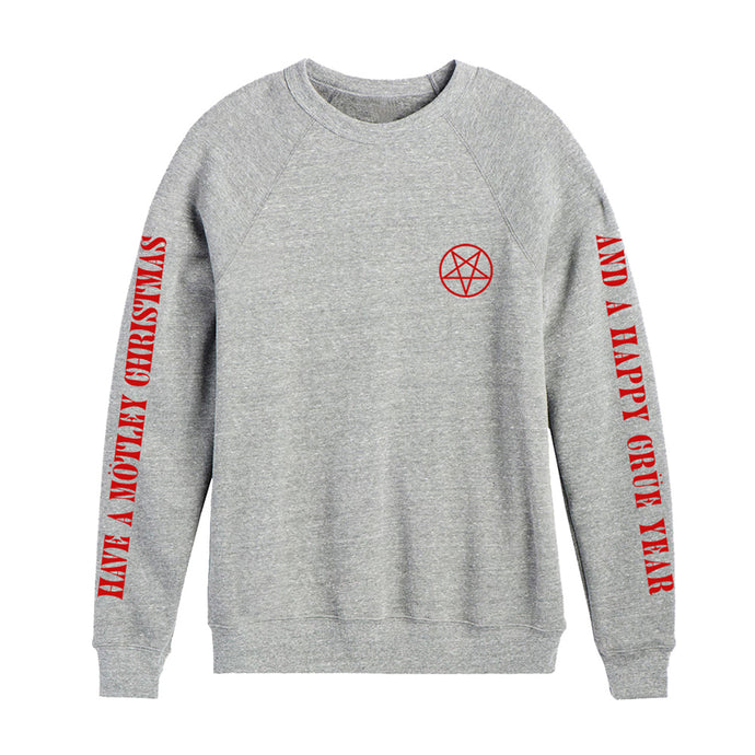 Motley Christmas Heather Grey Crewneck