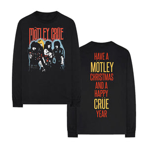 Happy Crue Year Long Sleeve Tee