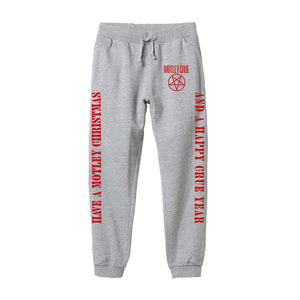 Motley Christmas Heather Grey Sweatpants