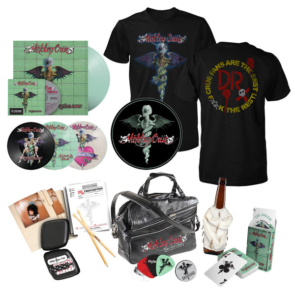 Dr. Feelgood 30th Anniversary Deluxe + Slip Mat + Logo Tee Bundle