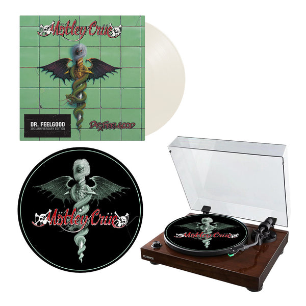 Dr. Feelgood 30th Anniversary White Vinyl + Slip Mat