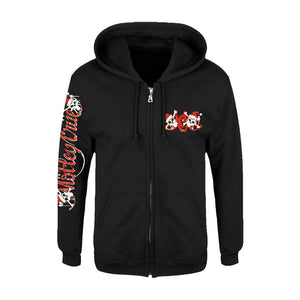 Dr. Feelgood Holiday Zip Hoodie