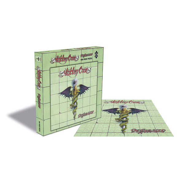 Motley Crue Dr. Feelgood Packshot Plus Puzzle