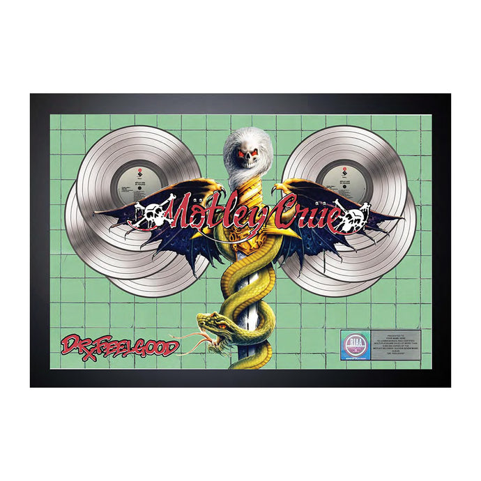 Dr. Feelgood Commemorative Display Plaque