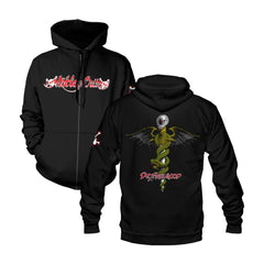 Dr. Feelgood Black Zip Hoodie