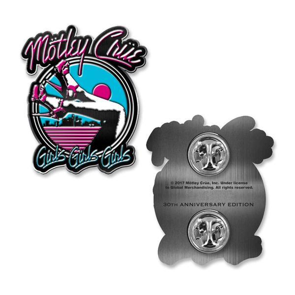 Girls Girls Girls 30th Anniversary Enamel Pin