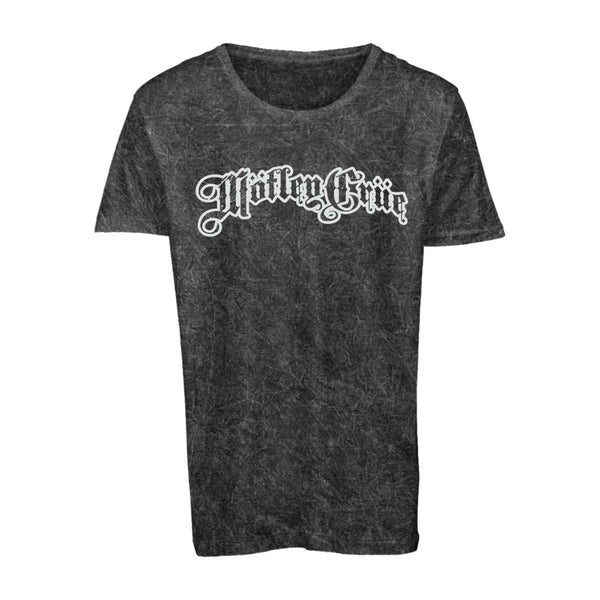 Distressed Gothic Outline Logo Tee
