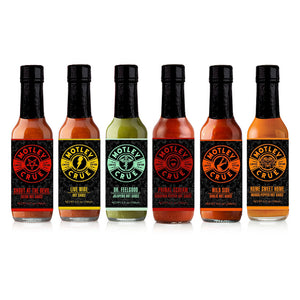 Motley Crue Hot Sauce Set