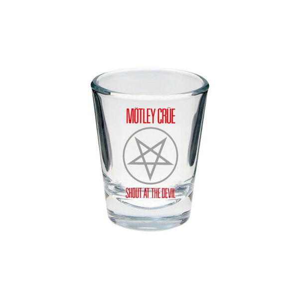 Shout at the Devil Shot Glass