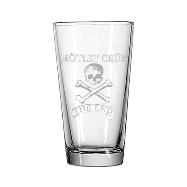 The End Pint Glass