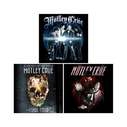 Motley Crue Final Tour  Merchandise