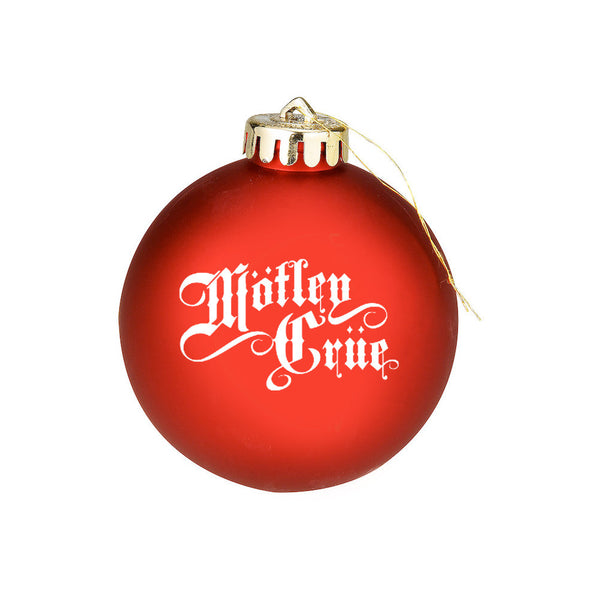 Motley Crue Holiday Ornament