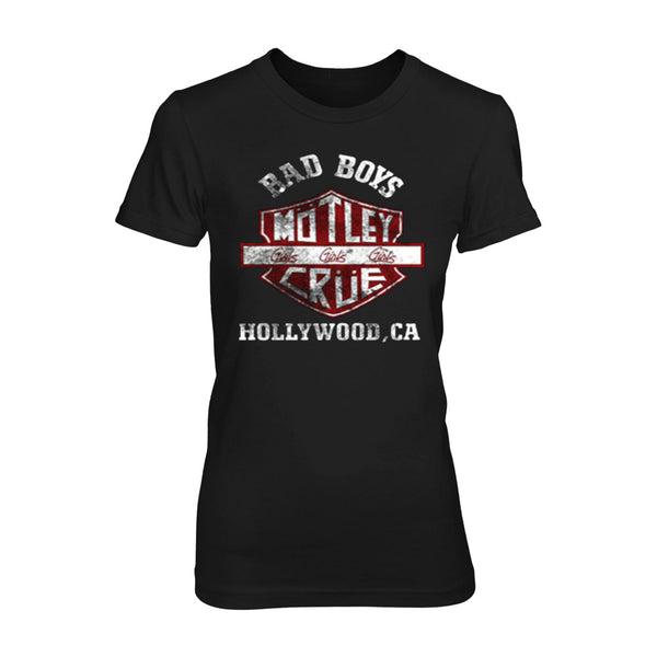 Bad Boys Shield Girls Tee