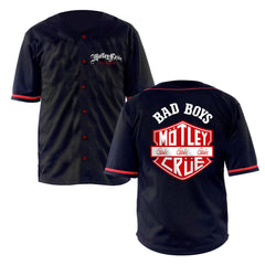 Back Shield Baseball Jersey