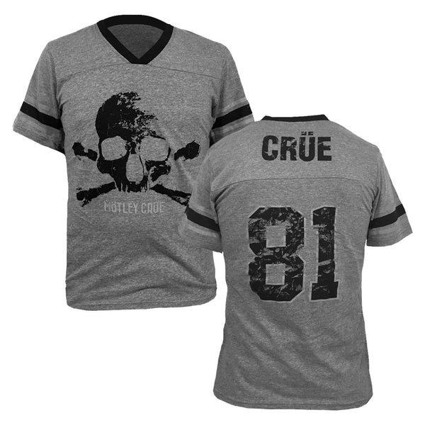 Obit Skull Grey Athletic Tee
