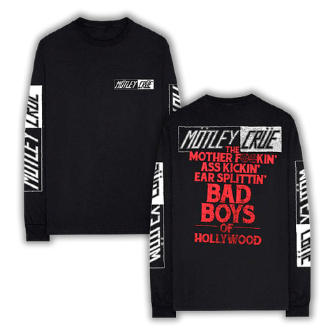 MOFO Bad Boys Long Sleeve Tee