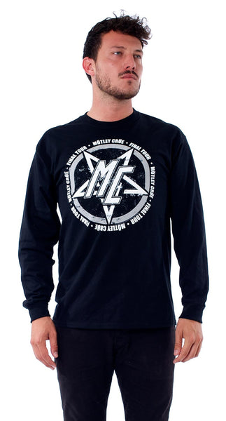 BIKER COLORS GREYSCALE LONG SLEEVE TEE - X-Large