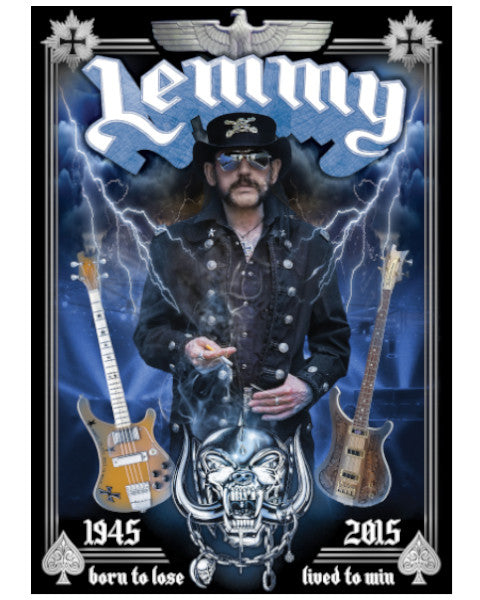 Lemmy Tribute Poster