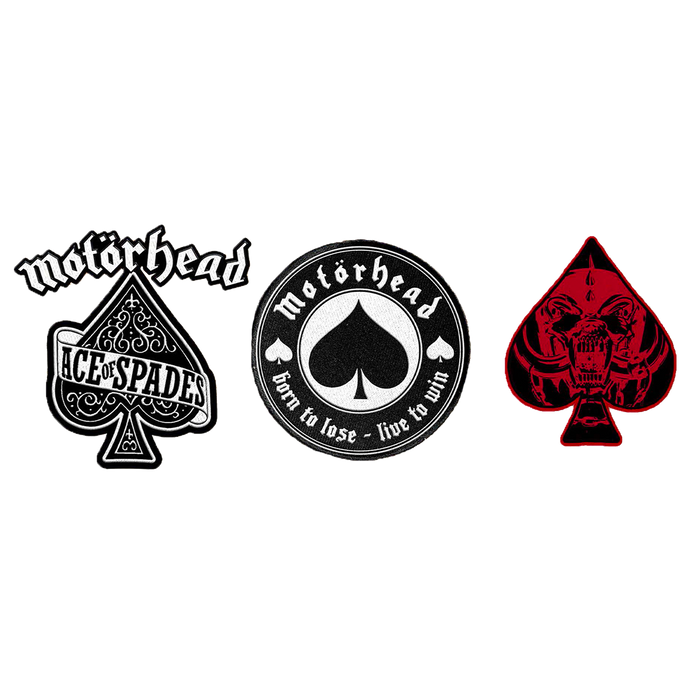 Ace of Spades Patch Set