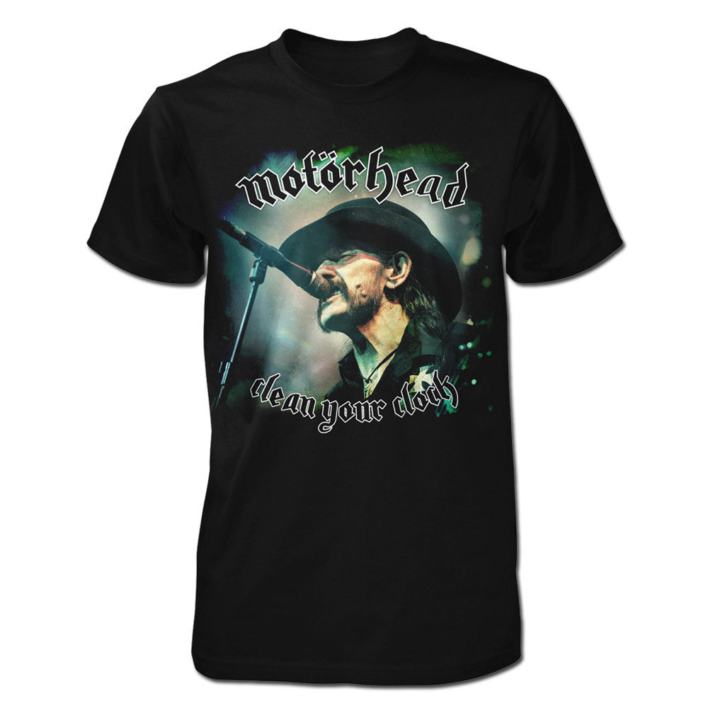 Clean Your Clock Lemmy Tee