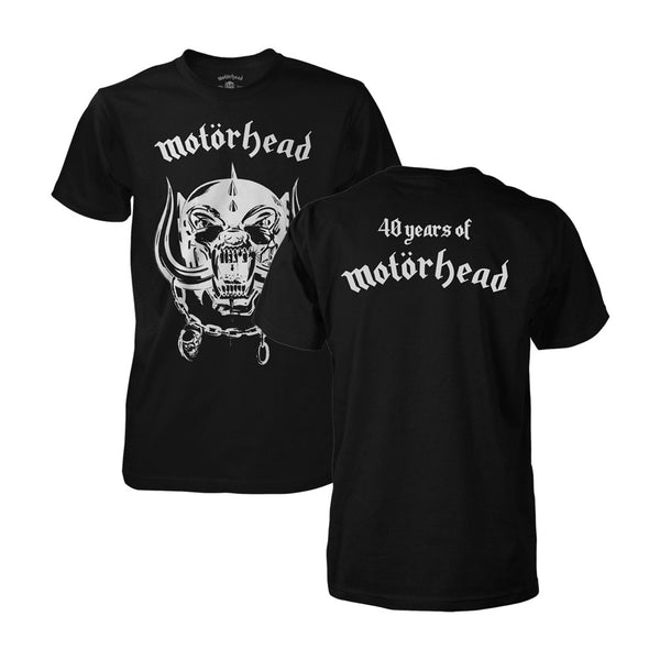 40 Years of Motorhead Warpig Tee