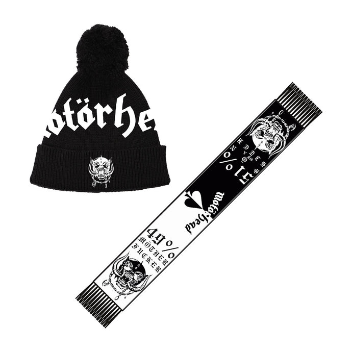 Warpig Scarf And Beanie Bundle
