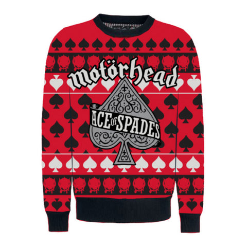 Ace of Spades Christmas Sweater