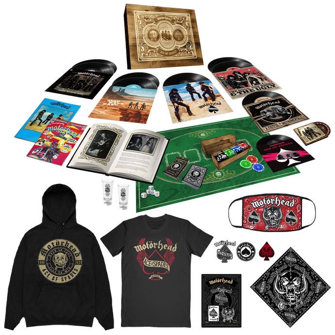 Ace of Spades Super Deluxe Box Set & Ultimate Merch Bundle