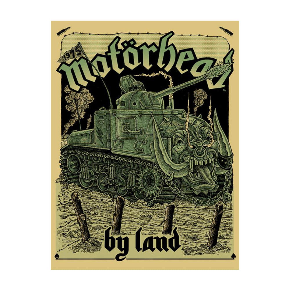 By Land Poster
