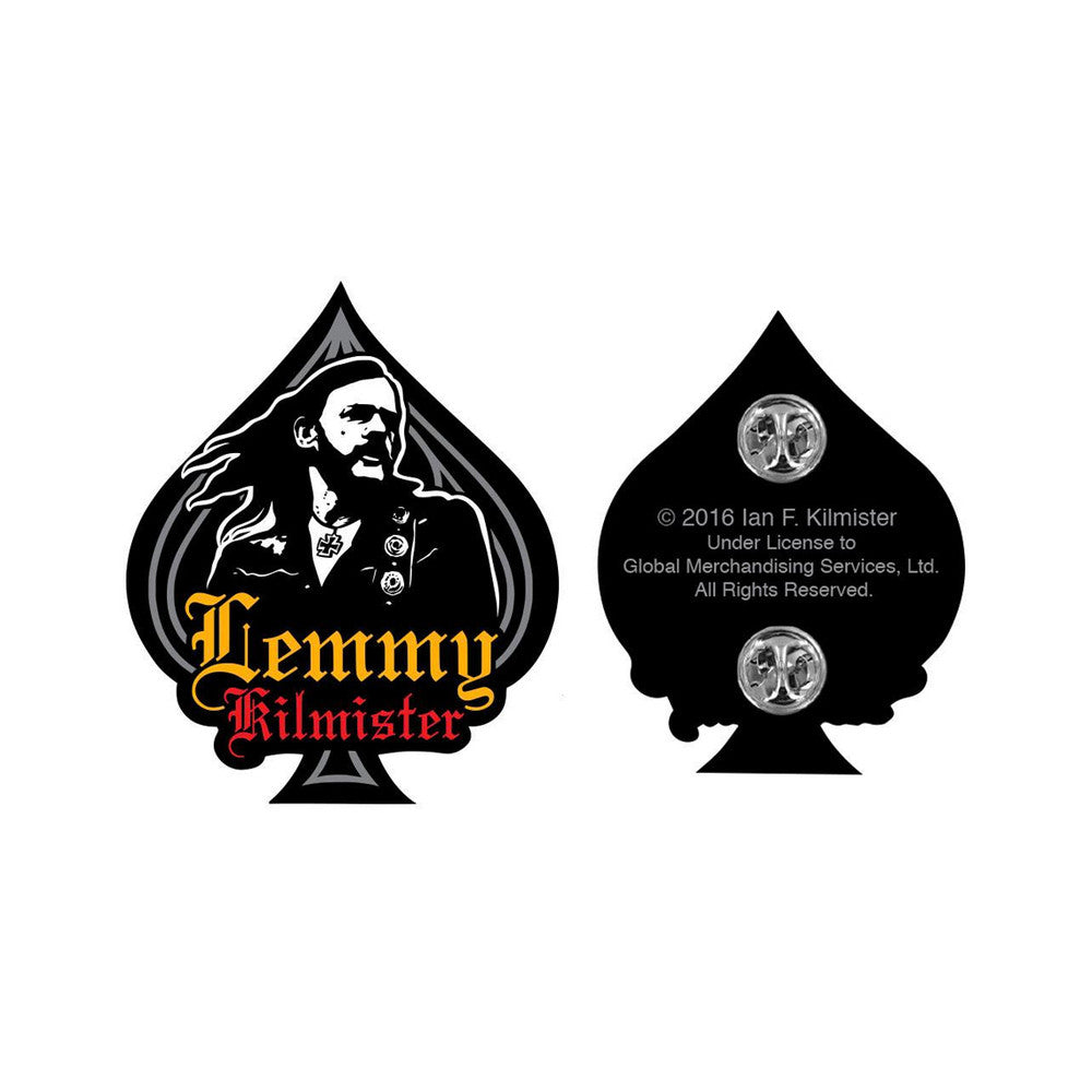 Lemmy Ace Enamel Pin