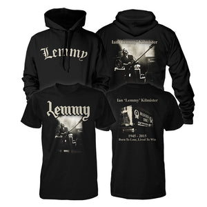 Lived to Win Shirt/Zip Hoodie Bundle