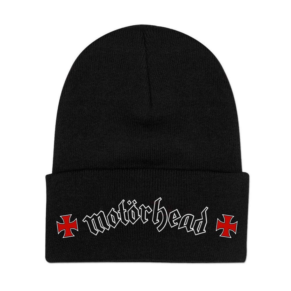 Logo and Crosses Beanie