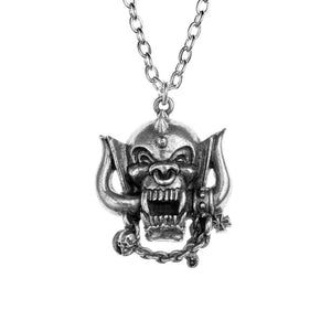 Alchemy Motorhead Warpig Necklace