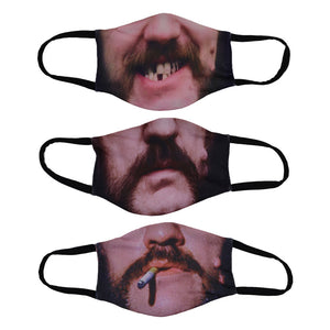 Faces of Lemmy Mask 3 Pack