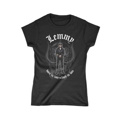 Lemmy Memorial Statue Women's Tee
