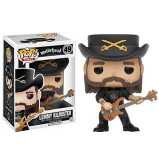 Lemmy Kilmister Pop! Rocks Funko Doll