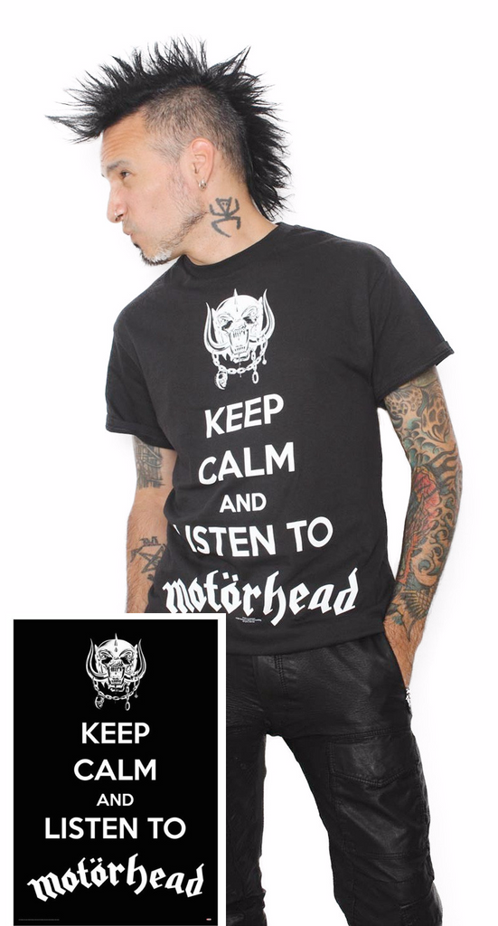Motorhead Keep Calm Bundle