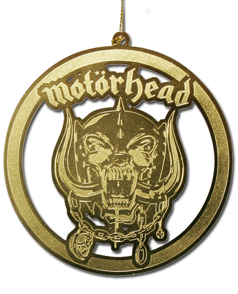 MOTORHEAD CHRISTMAS ORNAMENT