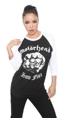 IRON FIST 1982 RAGLAN